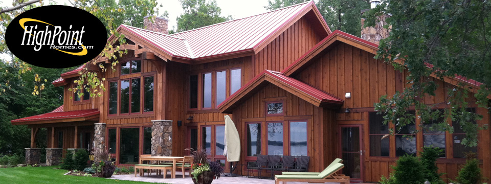 Custom Home on Lake Minnewaska